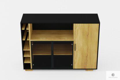 Design Holz Barschrank ins Wohnzimmer CARLA