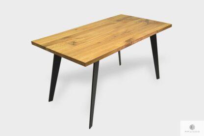 Industrielle Eiche Tisch mit Zusatzplatten ins Esszimmer CORTEZ