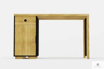 Modern Eiche Schreibtisch mit Schublade nach Bestellung ins Büro CARLA