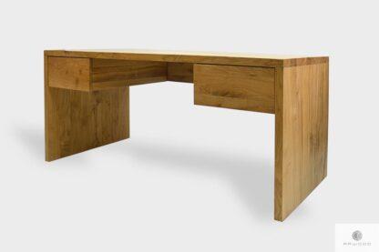 Modern Eiche Schreibtisch mit Schubladen auf Bestellung ins Arbeitzimmer DAVOS I