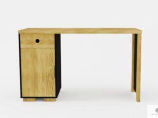 Modern Schreibtisch aus Massivholz ins Arbeitzimmer CARLA
