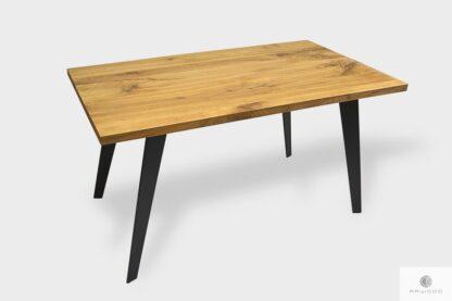 Loft Eiche Tisch auf Metallbeine ins Esszimmer CORTEZ