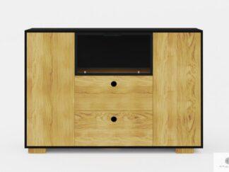 Design modern Kommode aus Holz mit Schubladen ins Wohnzimmer CARLA
