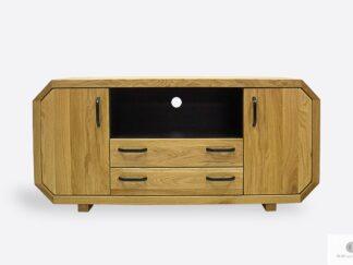 Modern Eiche TV Schrank mit Schubladen ins Wohnzimmer OMNIS II
